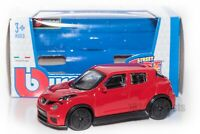 Nissan Juke R Red, Bburago 18-30136, scale 1:43, toy car model gift boy