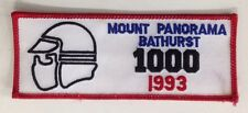 1993 MOUNT PANORAMA BATHURST 1000 MOTORCYCLE CLOTH PATCH HONDA YAMAHA SUZUKI