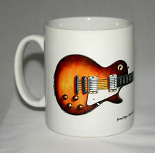 Guitar Mug. Jimmy Page's 1959 Gibson Les Paul #2 illustration.