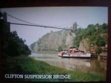 POSTCARD BRISTOL CLIFTON SUSPENSION BRIDGE