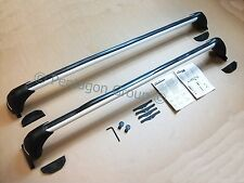 New Genuine Nissan Qashqai 2014- Aluminium Roof Bars/Rack Carrier KE7304E510