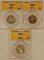 1920 Standing Liberty Silver Quarter, ANACS VF-30 *PRICE FOR ONE COIN ONLY*