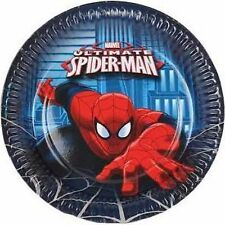 Spiderman Party Plate - 8 pack 23cm