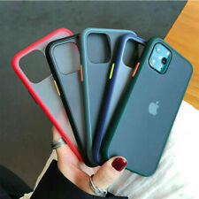 Clear Case For iPhone 12 Pro Max 12 Mini 11 X SE 2 Shockproof Bumper Matte Cover