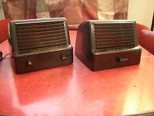 Vintage Bakelite Talk-a-Phone Intercom System Model L-C2 Master Staff Station