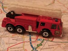 Matchbox Fire Engine - Red - approx.1:64 Die-cast Model Toy Car