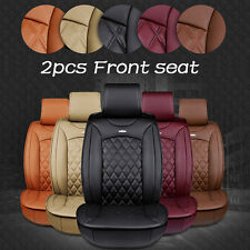 Luxury Car Front Seat PU Leather Car Seat Cover Cushion 3D Surround Waterproof