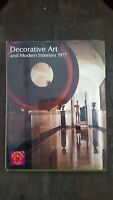 ARQUITECTURA Libro DECORATIVE ART and Modern Interiors  - 1977