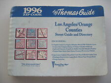 New Listing1996 Thomas Guide Los Angeles & Orange County Street Guide and Directory Map