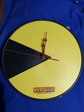 Pac-Man Wall Clock Official NAMCO Product 30cm