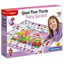 Clementoni GIANT ELECTRONIC FLOOR GAME Interactive Puzzle Mat FAIRY GARDEN
