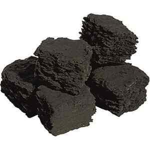 Gas Fire Replacement Coals Medium Black Square Coal premium quality WELSH 45mm
