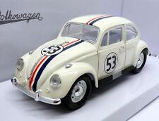 Signature 1/24 Scale - 1967 Volkswagen Beetle Herbie Lovebug #53 Diecast Model