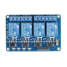 New 4 Way Relay Expansion Board Module Power Metal 5V For Arduino Instrument