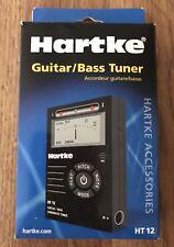 Hartke Guitar/Bass And Violin Tuner Ht12 New