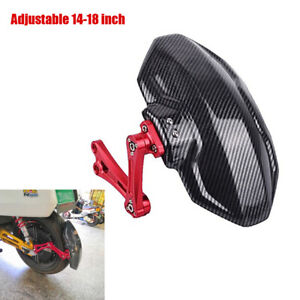 Adjustable Motorcycle Dirt Bike Rear Wheel Fender Mudguard Splash Guard Bracket