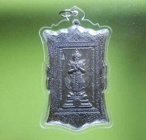 REAL THAO VEJSUWAN OLD THAI AMULET PENDANT VERY RARE !!!