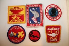 COLLECTION OF 6 VINTAGE  BOY SCOUT BADGES NO RESERVE