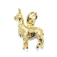 14kt. Gold Vermeil Suri Alpaca Charm