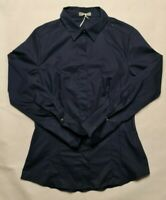 Studio.W women's Navy blue size 10 cotton sustainably sourced shirt