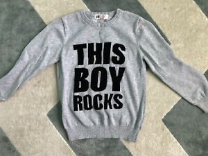 H&M Boys Sweater Size US 4-6y Grey
