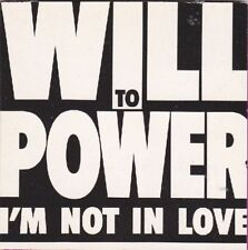 "Will To Power - I'm not in Love - rare 3"" CD Single von 1989"