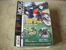 MOTO LEGENDE 121 02.2002 HONDA BOL d'OR CYCLO DERBI HARLEY TEBEC YAMAHA 500 XT