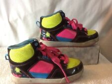 Girls size 13 OP Multi Color High Top Shoes, Very Colorful Pre-owned, Must Have