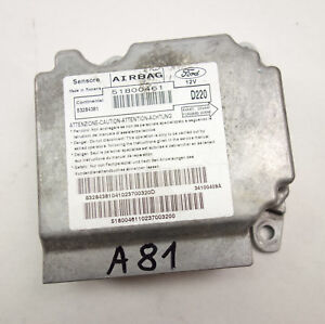 Ford Ka 2 II (RU8) Steuergerät Airbag SRS 51800461 Bj2010