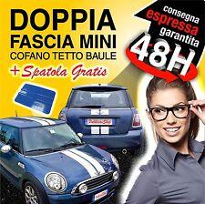 FASCE STRISCE ADESIVI MINI VIPER BONNET STICKERS MINI COOPER + SPATOLA GRATIS