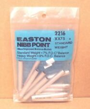 7/% FOC Easton Precision Nibb Target Points for 1616 Aluminum Arrows New Pack