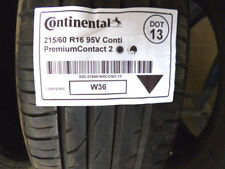 1 x Sommerreifen CONTINENTAL 215/60 R16  Conti PremiumContact 2 DOT13 - 5mm