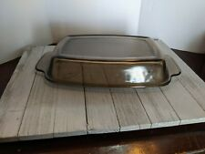 West Bend Slow Cooker #1 Glass Lid Replacement Part Amber Brown 4/6 Quart Qt Pan