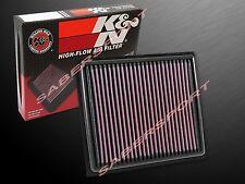 K&N 33-2453 Hi-Flow Air Intake Filter for 08-16 Lexus IS-F / RC-F / GS-F 5.0L V8