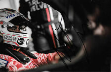 Nelson Piquet Jr  SIGNED Rebellion R-One AER Portrait   WEC 2016