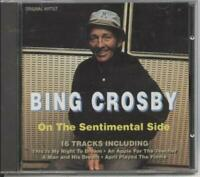 Bing Crosby - Bing Crosby On the Sentimental Side (CD) (1994)
