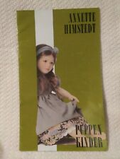 """1988/1989 Annette Himstedt Doll Catalog - 8"""" x 13"""""""