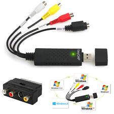 EasyCAP USB 2.0 VHS auf DVD AV Audio Video Konverter Adapter TV Capture Grabber