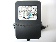 1A/1000MA 24 V AC/salida CA Adaptador De Red De Alimentación/Suministro/Cargador/TRANSFORMADOR