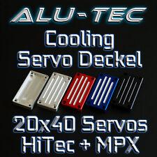Alu-Tec 🏁 Alu Servo Cooling Deckel 20x40 Multiplex TITAN Digi 5 /Hitec HS-7940