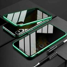 360° Privacy Anti-Spy Magnetic Glass Case Cover For iPhone11 Pro Max 6S 7 8 Plus