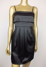 REVIEW BLACK MINI DRESS - SUIT RACES FORMAL WEDDING PARTY - 6 XS