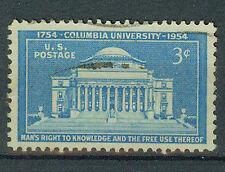 Sellos de correos estados unidos 1954 Universidad de Columbia mi.nr.649
