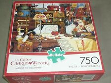 CHARLES WYSOCKI 750 pc puzzle MAGGIE THE MESSMAKER  #17071  - COMPLETE EC