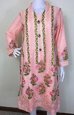 Pakistani Indian Salwar Kameez Party Wear Embroidery Lace M, L