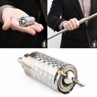 Silver Metal Appearing Cane Wand Stick Stage Magic Trick Gimmick New