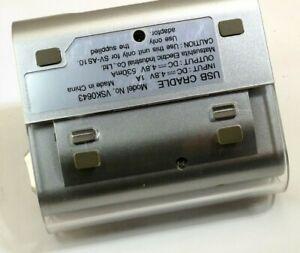 USB Battery cradle Charger Panasonic Model VSK0643 vintage