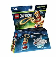 Warner - Lego Dimensions - Fun-pack - Wonder Woman Zubehör Warner Games NEW