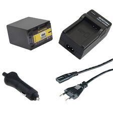 Batteria Patona + caricabatteria casa/auto per Sony HDR-CX360V,HDR-CX360VE
