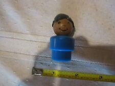 Fisher Price Little People Play family Blue boy Black hair AA Movie Gas Station